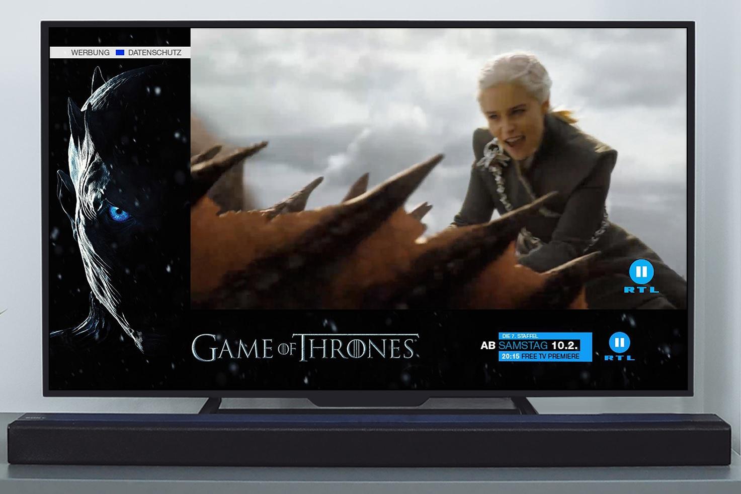 242d1986c8 Game of Thrones mit adressierbarer TV-Werbung | Marketing-BÖRSE