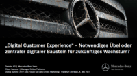Digital Customer Experience als Wachstumsgarant