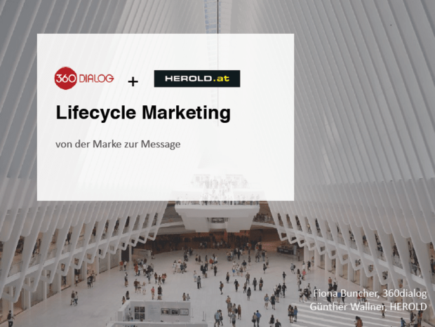 Lifecycle Marketing: von der Marke zur Message