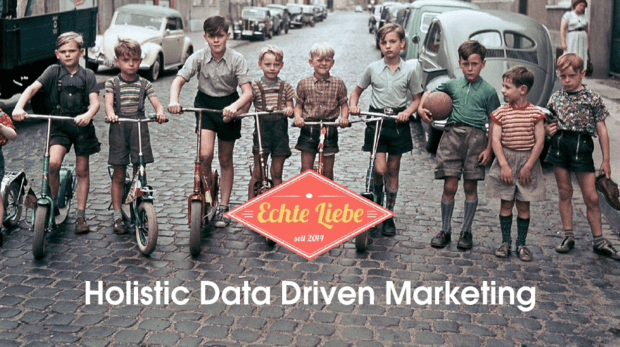 Holistic Data Driven Marketing